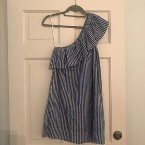 Madewell One Shoulder Dress